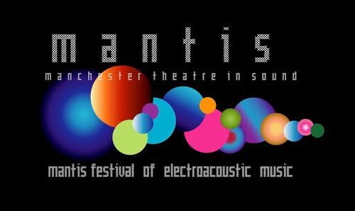 MANTIS festival logo with caption 'Manchester Theatre in Sound'