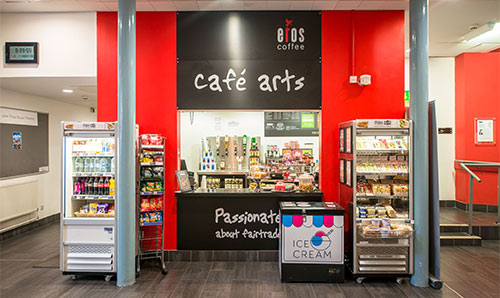 Cafe Arts in the Martin Harris Centre